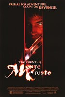 """The Count of Monte Cristo - red face - 11"""" x 17"""" - $15.49"""