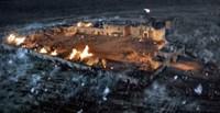 """The Alamo Screen Shot of Town - 17"""" x 11"""""""