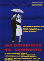 """The Umbrellas of Cherbourg (french) - 11"""" x 17"""""""