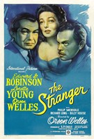 "The Stranger Robinson Young Welles - 11"" x 17"""