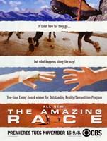 "The Amazing Race TV Show - 11"" x 17"""