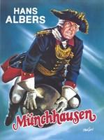 """The Adventures of Baron Munchausen - german - 11"""" x 17"""""""