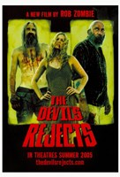 """The Devil's Rejects Sheri Zombie Sid Haig & Bill Moseley - 11"""" x 17"""""""