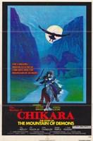 "The Shadow of Chikara - 11"" x 17"" - $15.49"