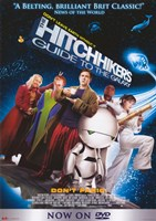 """The Hitchhiker's Guide to the Galaxy (characters posed) - 11"""" x 17"""""""