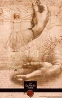 "The Da Vinci Code Hands - 11"" x 17"", FulcrumGallery.com brand"