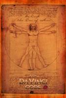 "The Da Vinci Code Vitruvian Man - 11"" x 17"", FulcrumGallery.com brand"