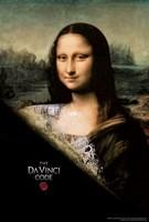 "The Da Vinci Code Mona Lisa Slash - 11"" x 17"", FulcrumGallery.com brand"