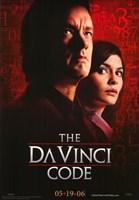 "The Da Vinci Code Cast Red - 11"" x 17"", FulcrumGallery.com brand"