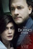 "The Da Vinci Code Cast - 11"" x 17"", FulcrumGallery.com brand"