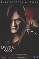 """The Da Vinci Code Paul Bettany est Silas French - 11"""" x 17"""", FulcrumGallery.com brand"""