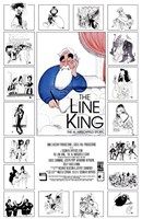 "The Line King: The Al Hirschfeld Story - 11"" x 17"""
