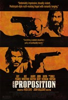 """The Proposition - Two men with guns - 11"""" x 17"""" - $15.49"""