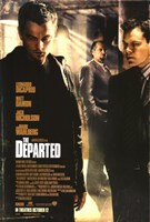 The Departed DiCaprio Fine Art Print