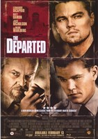 The Departed Damon DiCaprio Nicholson Fine Art Print