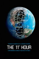 """The 11th Hour Footprint on the Earth - 11"""" x 17"""", FulcrumGallery.com brand"""