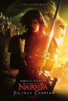 """The Chronicles of Narnia: Prince Caspian - Lion - 11"""" x 17"""" - $15.49"""
