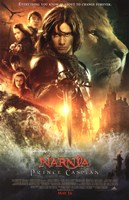 The Chronicles of Narnia: Prince Caspian characters Fine Art Print