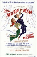 The  (Broadway) Music Man Fine Art Print