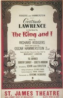 "The (Broadway) King And I - 11"" x 17"" - $15.49"