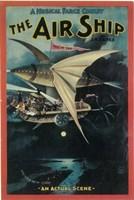 "The (Broadway) Air Ship - 11"" x 17"""