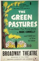 "The (Broadway) Green Pastures - 11"" x 17"" - $15.49"