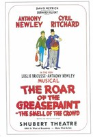 "The (Broadway) Roar Of The Greasepaint Smell Of The Crowd - 11"" x 17"" - $15.49"