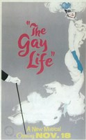 """The (Broadway) Gay Life - 11"""" x 17"""""""