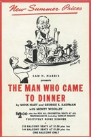 "The (Broadway) Man Who Came to Dinner - 11"" x 17"" - $15.49"