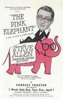 "The (Broadway) Pink Elephant - 11"" x 17"" - $15.49"