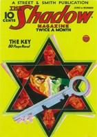 "The (Pulp) Shadow Magazine The Key - 11"" x 17"""