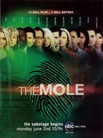 "The (TV) Mole - 11"" x 17"""