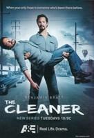 "The (TV) Cleaner Benjamin Bratt - 11"" x 17"", FulcrumGallery.com brand"