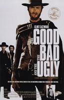 The Good, The Bad, and the Ugly Clint Eastwood Fine Art Print