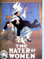 "The Hater of Women - 11"" x 17"" - $15.49"