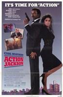 "Action Jackson - back to back - 11"" x 17"""