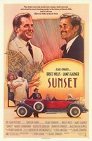 "Sunset - 11"" x 17"""