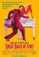"Great Balls of Fire Piano Fire - 11"" x 17"""