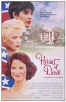 "Heart of Dixie - 11"" x 17"""
