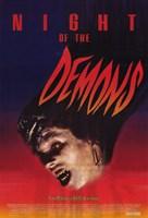"Night of the Demons - 11"" x 17"""