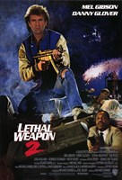 """Lethal Weapon 2 - 11"""" x 17"""""""