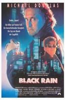"Black Rain - 11"" x 17"""