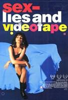 """Sex Lies and Videotape - 11"""" x 17"""""""