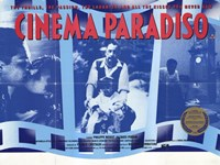 Cinema Paradiso Blue Fine Art Print