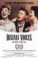 """Distant Voices Still Lives - 11"""" x 17"""""""