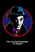 "Dick Tracy ""You Just Said Good-Bye to Oxygen."" Framed Print"