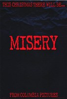 "Misery Stephen King - 11"" x 17"" - $15.49"