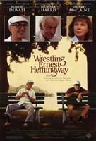 "Wrestling Ernest Hemingway - 11"" x 17"""
