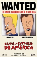 "Beavis and Butthead Do America - 11"" x 17"""
