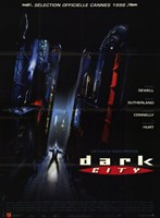 "Dark City - black - 11"" x 17"""